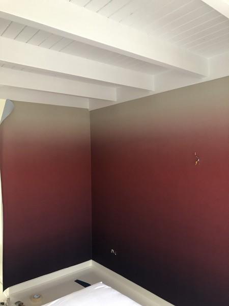 Behang met kleurverloop