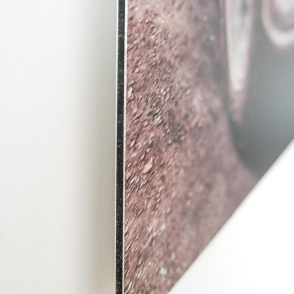 Detail Aluminium print