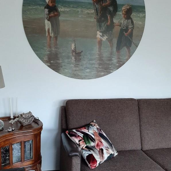 Muurcirkel kinderen der zee