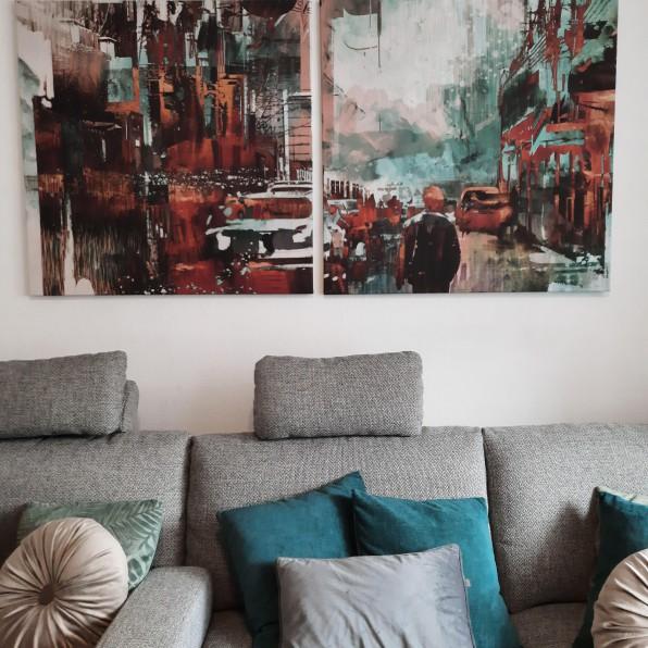 Tweeluik Canvassen