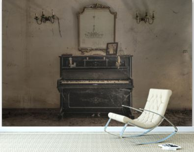 Piano and Candles