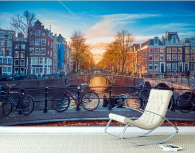 Awesome streets in Amsterdam