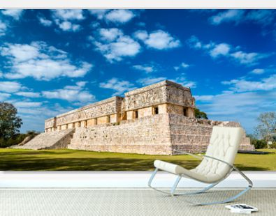 Governor's Palace at Uxmal in Mexico