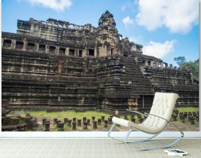 Baphuon temple the state temple of Udayadityavarman II located in Angkor Thom of Siem Reap province, Cambodia.