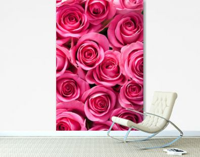 beautiful pink roses background