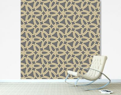 Orient vector classic golden pattern. Seamless abstract background with vintage golden elements. Orient background. Ornament for wallpaper and packaging