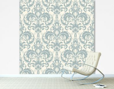 seamless pattern with Victorian motives