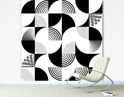 Seamless art deco pattern vector background. Perfect for wallpapers, pattern fills, web page backgrounds, surface textures, textile. Art nouveau modern geometric decorative vintage backdrop