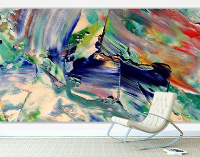 Colorful abstract background wallpaper. Modern motif visual art. Mixtures of oil paint. Trendy hand painting canvas. Wall decor and Wall art prints Idea. 3D Texture.Colorful abstract