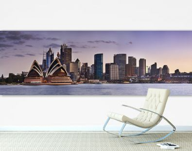 Sydney CBD Kirribilli close panorama