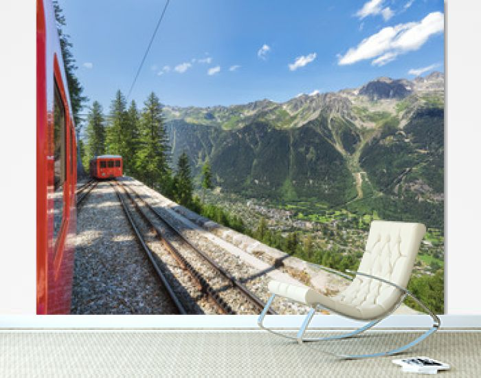Traveling to high French Alps in summer
