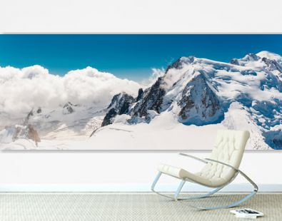 Stock photo of the Mont Blanc top