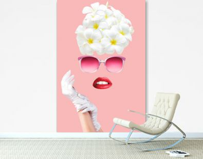 Contemporary art poster collage