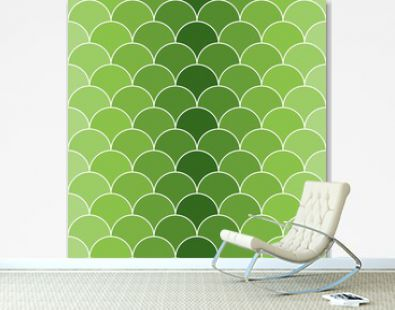 Seamless pattern with scales 09