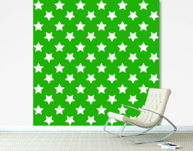 Vector seamless green pattern in Christmas and New Year colors