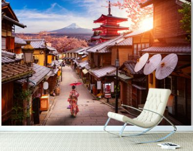 Backgroung concept for travel in Japan image