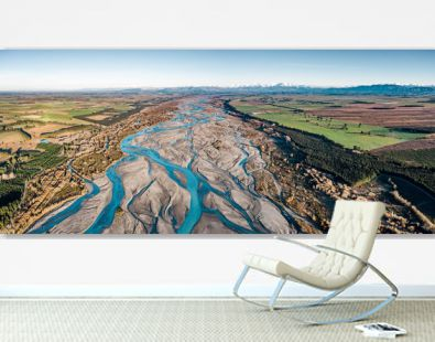 New Zealand Braided River