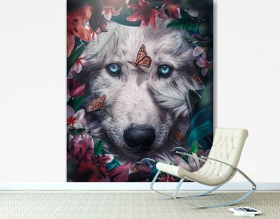 Wolf Floral