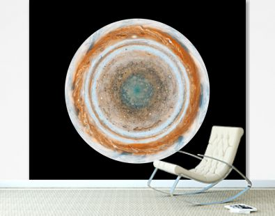 These color maps of Jupiter. Original from NASA
