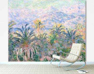 Palm Trees at Bordighera (1884) by Claude Monet