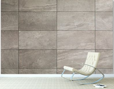 gray tile wall, close up background