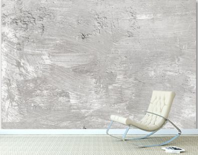 Texture of white concrete wall for background.