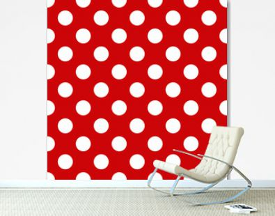 Seamless polka dot pattern for Your design