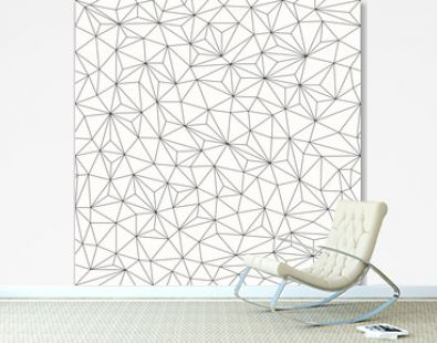 Triangles background, seamless pattern, line design
