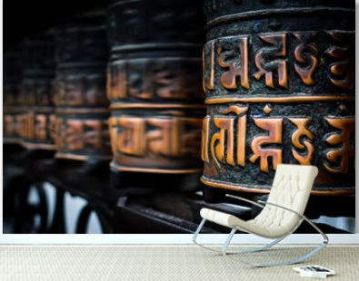 Nepalese Buddhist prayer rolls