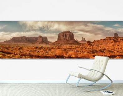 Landscape of Monument valley. USA.