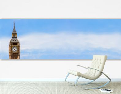 Big Ben, London, England Panorama Web Banner