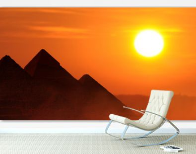 Vacation travel concept to Egypt