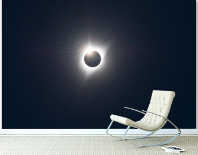 Totality Ends - 2017 Solar Eclipse