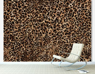 abstract leopard print texture design