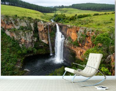Big Berlin waterfall at the Panorama route in South Africa