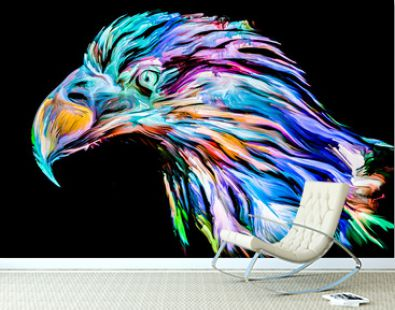 Bird of Color Paint