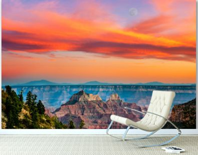 Grand Canyon landscape from North Rim, Arizona, USA