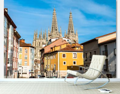 The Cathedral of Saint Mary of Burgos. UNESCO world heritage in Spain