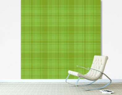Seamless pattern in green colors for plaid, fabric, textile, clothes, tablecloth and other things. Vector image.