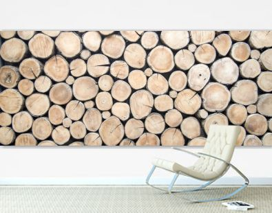 wallpaper wood log