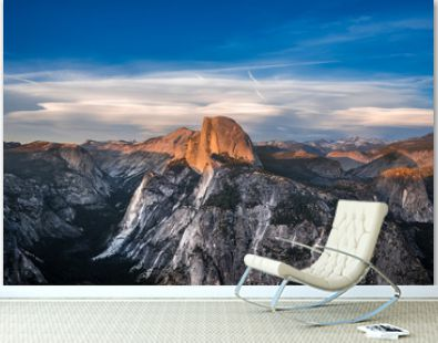 Yosemite Half Dome at Sunset