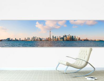 Panoramic view of Toronto skyline