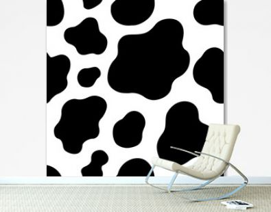 cow texture pattern repeated seamless brown and white lactic chocolate animal jungle print spot skin fur milk day