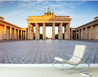 Branderburger Tor- Brandenburg Gate in Berlin, Germany