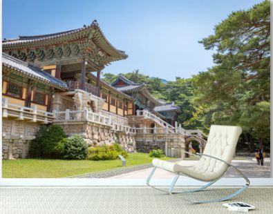 Bulguksa temple in Gyeongju, South Korea - Tour destination