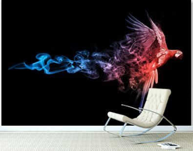 Macaw blue red animal kingdom collection with amazing effect