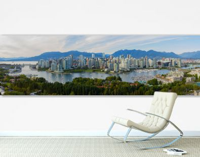 Panorama of Vancouver B.C.