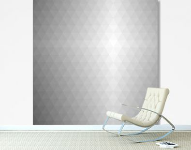 Vector abstract gray background. Polygonal modern pattern. Geometric texture with triangles.