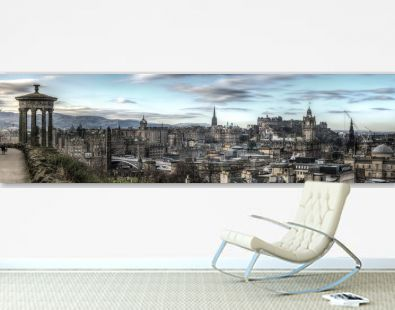 Panorama of Edinburgh