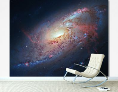 Space Galaxy Background. M 106 Elements of this image furnished by NASA.